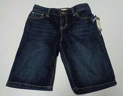 Old Navy Blue Jean Boarding Skating Shorts NWT Children's Sz 12