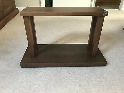 Hi-Fi Racks Centre Speaker Stand - Walnut Stain