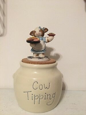 Mary's Moo Moos - Cow Tipping Cookie Jar