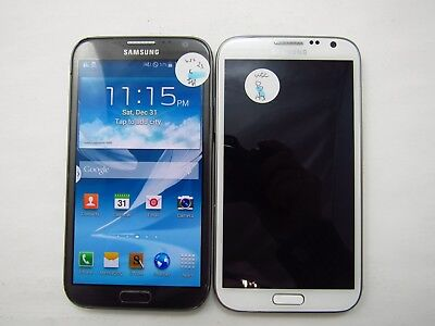 Lot of 2 Samsung Galaxy Note 2 R950 U.S. Cellular Check IMEI Fair Cond 5-1099