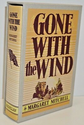 """Gone With The Wind"" By Margaret Mitchell -The First Edition Library With Sleeve"