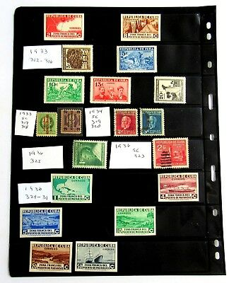Lighthouse Vario Stamps Pages 8 Rows 8S Pack of 5 Black Sheets Free US Shipping