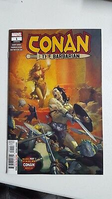 Conan The Barbarian #1 (Marvel Comic Book 2019)