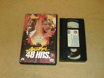 Another 48 Hrs. - Ex-Rental Big Box VHS Video Eddie Murphy CIC Embossed Box
