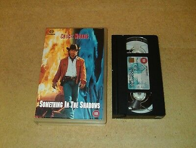 Something in the Shadows - Ex-Rental Big Box VHS Video Chuck Norris Cannon
