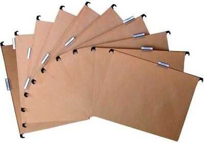 Pierre Henry A4 Suspension Files ( Natural Kraft ) Ref 80003 [ Pack of 10 ]