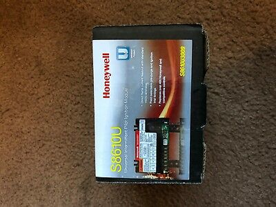 Honeywell S8610U Universal Intermittent Pilot Ignition Control Module S8610U3009