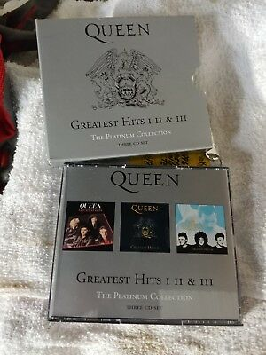 Greatest Hits: I II & III: The Platinum Collection by Queen (CD, Jul-2011, 3 Di…