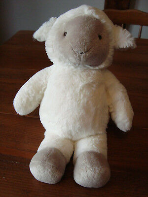 The Little White Company Soft Plush Lamb / Sheep 11 Inches Tall