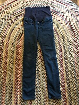 Womens H&M Mama Skinny High Rib Maternity Jeans Size 8