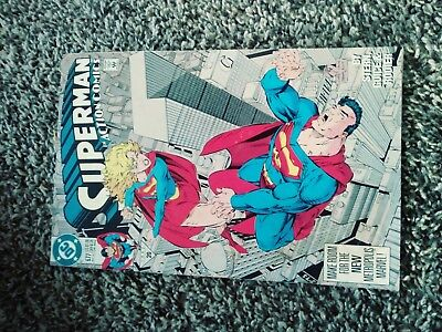 Dc Action Comics Superman 1992 20. No.677