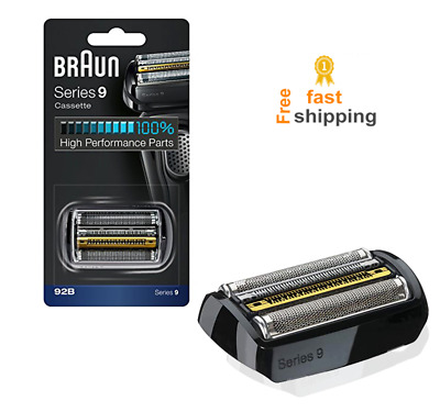 foil cassette replacement head for braun shaver trimmer for series 9 92b for men