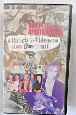 A Bunch Of Videos And Other Stuff By Tom Petty And The Heartbreakers Vhs Video