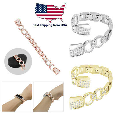 Stainless Replacement Wristband Watch Band Strap For Fitbit Alta/ Fitbit Alta HR