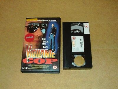 Vigilante Cop - Ex-Rental Big Box VHS Video Alex McArthur Dale Midkiff ITC