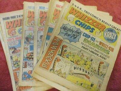 Whizzer & Chips Comic 1978-9  X14