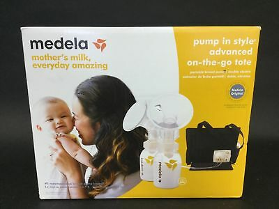 Medela In Style Advanced Double Breast Pump w/ On-The-Go-Tote ~ NEW, READ - K96