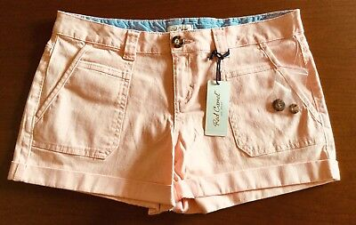 Nwt Red Camel Girls Juniors Teens Rolled Cuff Cargo Style Shorts Size 9 Msrp $33