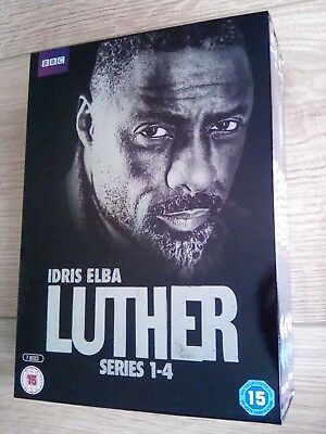 Luther dvd Series 1-4 box set