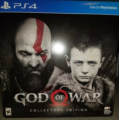 God of War: Collector's Edition NO GAME PS4