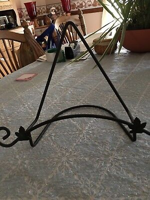 Longaberger Pottery Wrought Iron Holder For Fruit Medley Pasta Bowl EUC
