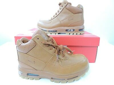 441ecf7396 Nike Mens Air Max Goadome ACG Boots Tawny Gum Light Brown 865031-208 Size 8