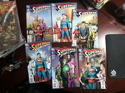 Superman: Secret Origin #1-6, Full Set, VG, DC Comics