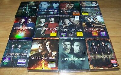 Supernatural complete season 1-12