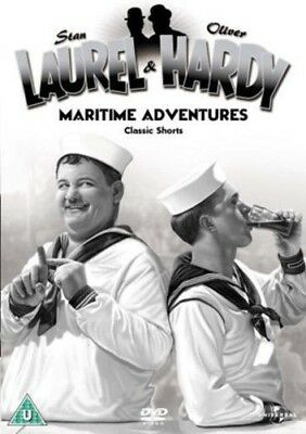 Laurel And Hardy Maritime Adventures-Classic Shorts(DVD,2004) Plus Flying Deuces