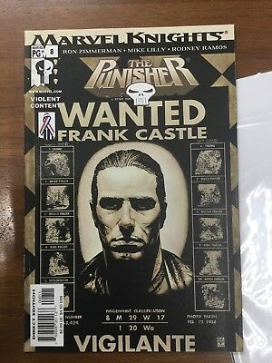 The Punisher #8 MARVEL KNIGHTS ( MAR 2002 MARVEL)