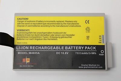 NEW Philips M4605A 10.8V Lithium Ion Battery 7800 mAh for IntelliVue Monitors