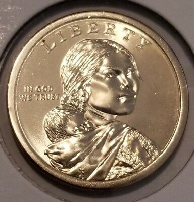 2018 P or D SACAGAWEA Native American COINS FROSTY BU *FREE SHIPPING*