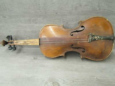 Antique Jacobus Stainer Copy 4/4 Violin Made In Germany Parts Repair