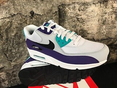 new styles 71146 b32ff Nike Air Max 90 Essential Grape Jade South Beach Wht Purple Aj1285-103 Men s
