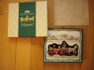2001 White House Historical Association Christmas Ornament withOUT booklet