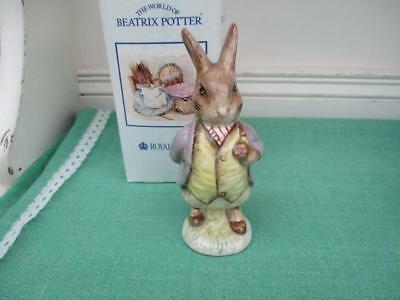 Royal Albert Beatrix Potter Figure MR BENJAMIN BUNNY - 1st & Boxed