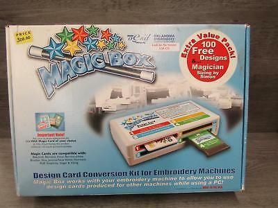 OESD Magic Box Design Card Conversion Kit For Embroidery Machines