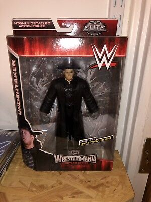 Undertaker Elite Wrestlemania Figure