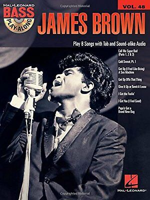 James Brown: Bass Play-Along Volume 48