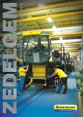 NEW LISTING - New Holland Zedelgem Harvester Plant Guide  - 03/12- English