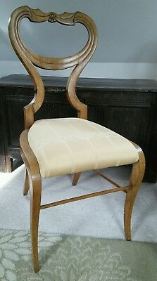 REDUCED. 1820 circa Biedermeier chair attributed Danhauser