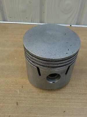 OLD HEPLEX 4718 88MM PISTON,no rings,FOR OLD BRITISH PANTHER,ETC, MOTORCYCLE,