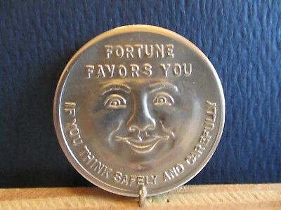 Fortune Favors You If You Think Safely & Carefully - Safety Token