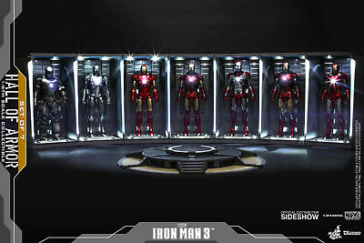 IN STOCK! DS001C Hall of Armor [set of 7][€ 999] Hot Toys [ACCONTO PRENOTAZIONE]