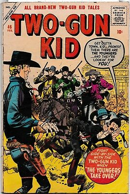 Two Gun Kid Comic #46 - Charlton Comics - 1959 - Condition Gd+ (2.5)