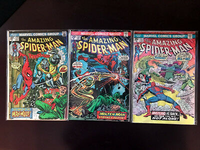 Amazing Spider-Man 15 Various + Annual + Giant Size Near Mint 1973-1987 Marvel