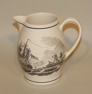 Wedgwood Collectors Society England Capture of HBM Frigate Macedonian Pitcher