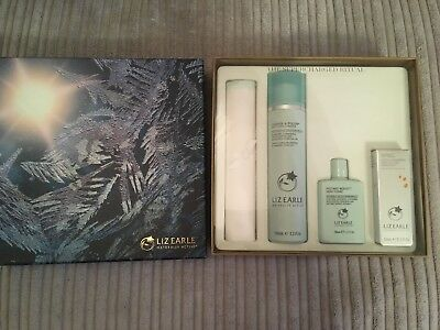 NEW Box LIZ EARLE Winter Supercharged Ritual Cleanse Tonic Super Skin Face Serum