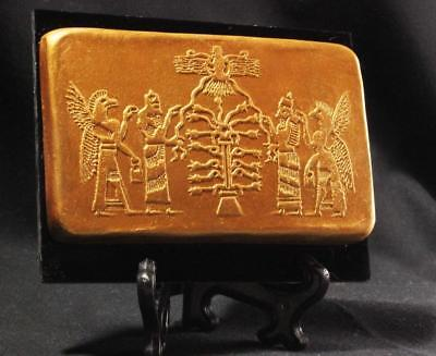 Assyrian Cylinder Seal Tablet TREE OF LIFE 900 BC ancient reproduction