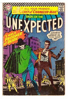 Tales of the Unexpected #95 GD (2.0) DC Comic 1966